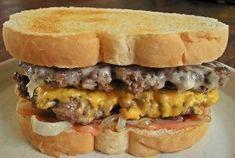 Homemade Steak 'n Shake Frisco Melts   RecipeLion.com