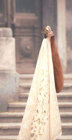 rapunzel. long hair