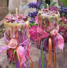 Enchanted Candles for Spring Festivals