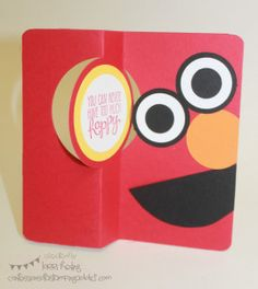 Amazing Deal to Join the Stampin' Up Community! :: Confessions of a Stamping Addict Elmo Card Lorri Heiling