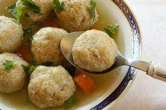 Traditional Passover Matzah Balls RECIPE