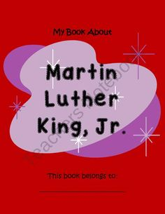 Martin Luther King, Jr.- 19 Pages of Fun Activities product from Your-Teachers-Aide on TeachersNotebook.com