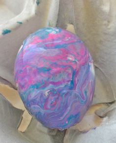 How to Make Nail Polish Marbled Eggs, DIY Easter Egg Ideas, DIY Holiday Crafts Tutorial #2014 #easter #nail #polish #eggs #diy www.foodideasrecipes.com