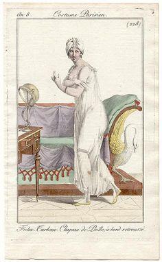 Costume parisien 1808