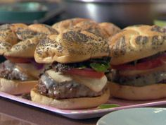 A Burger for Rachael Recipe : Rachael Ray : Food Network - FoodNetwork.com