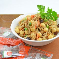 Chai Spiced Rice and Chickpeas