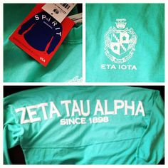 Zeta Tau Alpha spirit jersey- WANT!!!