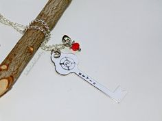Firefighter Necklace  Key  Firefighter Wife by SouthernComfortZone, $19.00