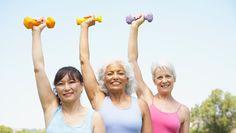 Cardio, Strength Training Tips for Seniors -- Go Red For Women