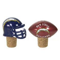 San Diego Chargers Bottle Corks - set of 2