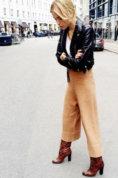 stellawantstodie: Friday´s inspo: cropped pants & culottes