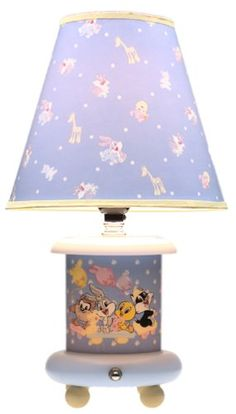 baby looney tunes for the nursery lamp