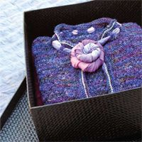 La Scala cardigan - sweater knitting pattern