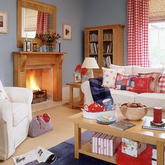 blue rooms, interior, living room layouts, living room styles, shades of red, live room, wooden furniture, country living rooms, loung