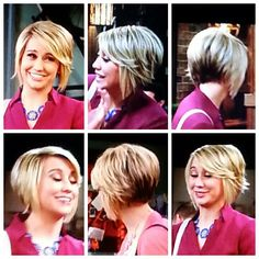 Really want to chop my hair like this. Chelsea Kane, love her hair. Cut and color.