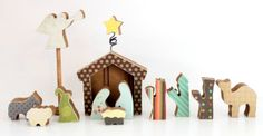 Wood you like to craft?: Nativity~Crafty Sisters
