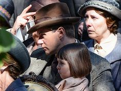 Downton Abbey Season 5: Tom Branson and his daughter Sybbie