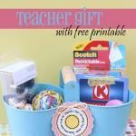 Teacher Appreciation with Free Printable