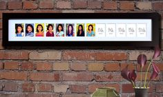 I LOVE this! K12 School Days School Picture Frame  Limited by HillsideStudios, $129.00