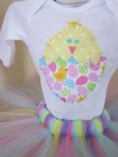 Easter dress Easter tutu Easter onesie by PaisleyPrintsSpokane