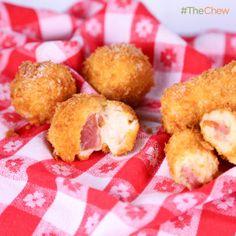 Michael Symon's Ham Croquettas #TheChew