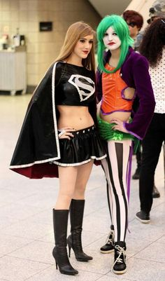 Gender-swapped cosplay. <3
