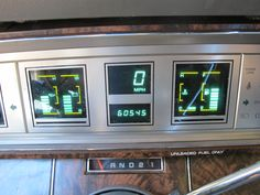 80's chrysler | THIS NEW YORKER HAS THE DIGITAL SPEEDOMETER AND GAUGES. IT HAS JUST ...