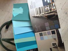 Kleuren uitzoeken voor de woonkamer toch maar geen grijs mijn keuken ...