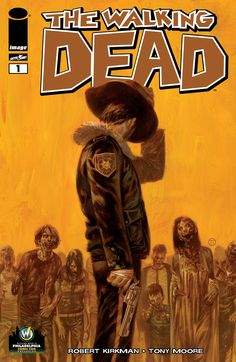 Wizard World Variant Cover Art for The Walking Dead #1