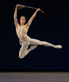 NYCB's Chase Finlay as Apollo. Photo by Paul Kolnik, Courtesy NYCB © Balanchine Trust