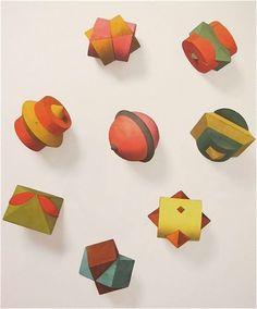 "Hermann Finsterlin  ""Eight Assembled Objects""  1914"