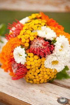 Fall Flower Bouquets Wedding Flowers Photos on WeddingWire