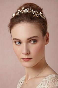 Gilded Dawn #Bridal #Headband from #BHLDN
