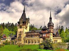 Peles Castle, Romania beauti castl, mountains, photograph, castles, romania, pele castl, carpathian mountain, blog, place