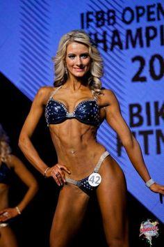 Kristina Karaliūtė Stoliarovienė – 2012 IFBB Latvian Championships Bikini Class Winner