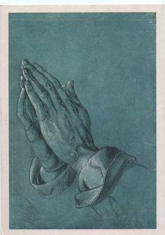 Durer Praying Hands, 1508. Incredible.