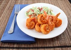 Living Low Carb...One Day at a Time: Grilled Buffalo Shrimp with Broccoli Slaw (Low Carb and Gluten Free)