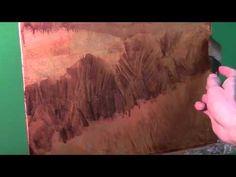 ▶ Pintando sobre pan de oro HD - YouTube