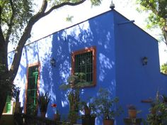 Frida's house in Mexico City