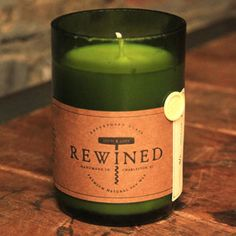 wines, craft, repurpos wine, homemade candles, gift ideas