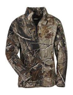 RedHead® Camo Fleece 1/4 Zip Pullover for Ladies | Bass Pro Shops