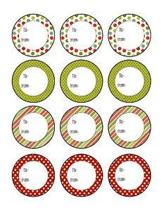 christma tag, christmas favors, mason jar gifts, subway art, christmas printables