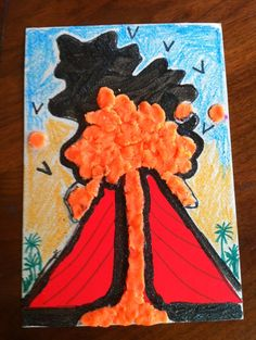 Letter V for Volcano show and tell kids on Pinterest | For Kids