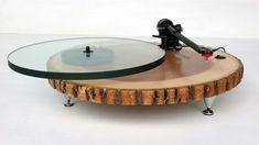 Audiowood Barky Turntable by Joel Scilley