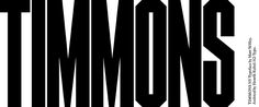 Timmons NY font by M