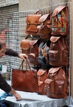 boho bags and leather backpacks