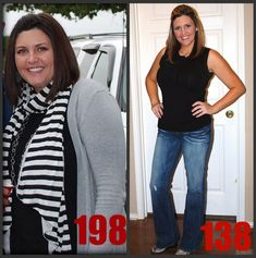 inspiring weight loss story. see here for progress pics: http://www.mamalaughlin.com/2010/10/60-pound-weight-loss-pics.html