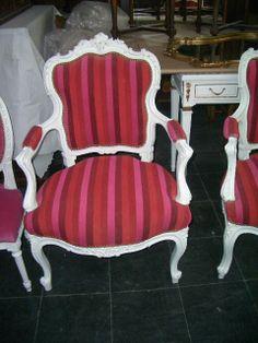 Juegos de living y sillones antiguos on pinterest 23 pins - Sillones antiguos restaurados ...