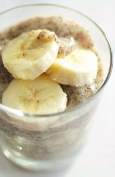 Banana Chia Seed Pudding