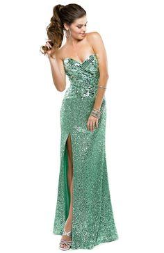 Sweet mint jeweled prom dress | Flirt Prom #flirtprom #green #stpatricksday #fashion